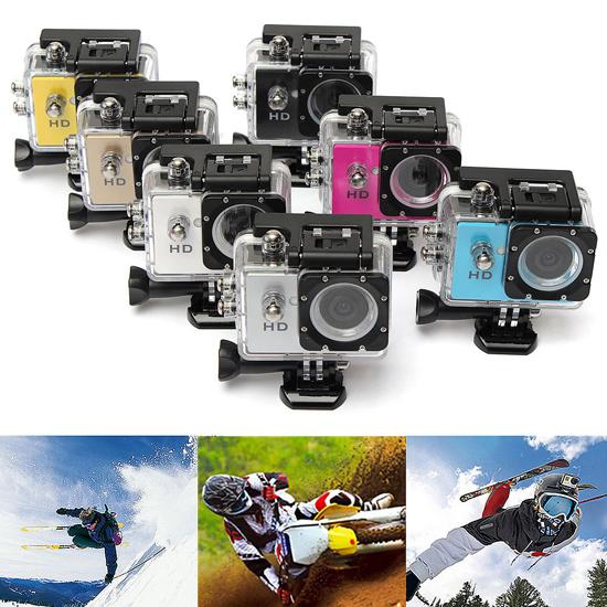 hd kamera a7 sunplus spca1521 wasserfest bis 30m f r skihelm fahrradhelm auto ebay. Black Bedroom Furniture Sets. Home Design Ideas